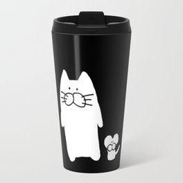 cat and mouse 501 Travel Mug