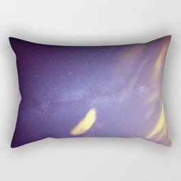 Cloudy with a Chance of Milky Way Rectangular Pillow