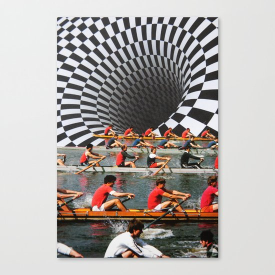 Row, Row, Row Canvas Print