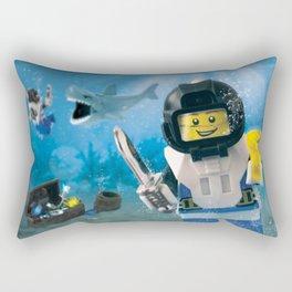 Diamond Geezer Rectangular Pillow