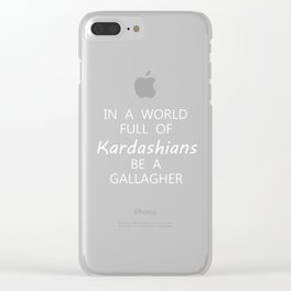 kim kardashians Clear iPhone Case