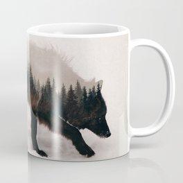 Black Wolf Coffee Mug