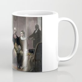 George Washington And His Family Coffee Mug