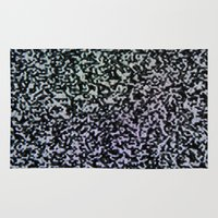 channel Area & Throw Rugs featuring dead channel by Max Rubenacker