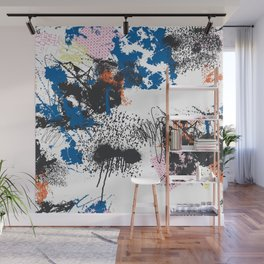 Abstract Free Form Wall Mural