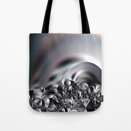 Complexity under smooth simplicity - Abstract play with focus Tote Bag