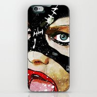 catwoman iPhone & iPod Skins featuring Catwoman by Ed Pires
