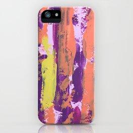 Paint (warm) iPhone Case