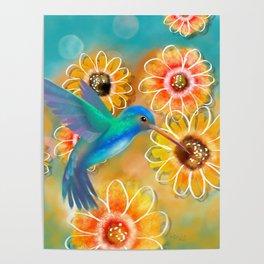Hummingbird Bounty Poster