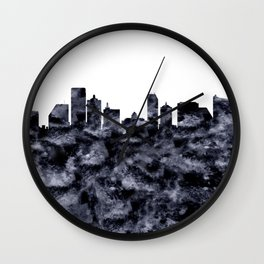 Atlantic City Skyline Wall Clock