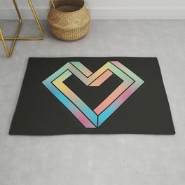le coeur impossible (nº 4) Rug