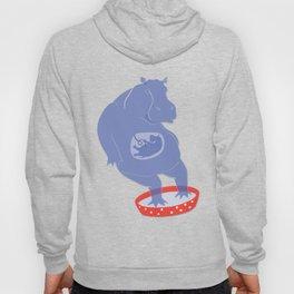 Hippo Illustration Hoody