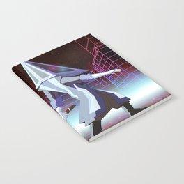 Neon Pyramid Head Notebook