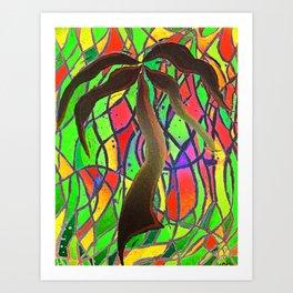 Party Palm  Art Print