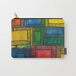 Primary Patchwork Carry-All Pouch