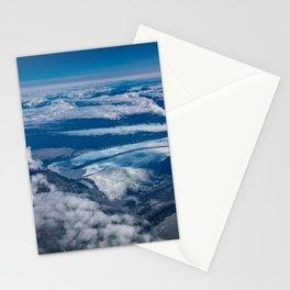 Aerial Glacier Five - Alaska Stationery Cards