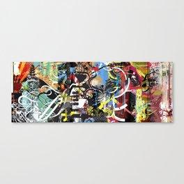 Exquisite Corpse: Round 4 Canvas Print