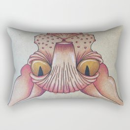 Upside-Down Sphynx Rectangular Pillow