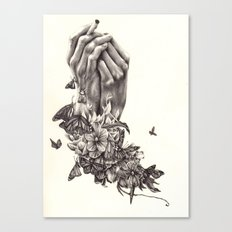 Pray for Nature Canvas Print