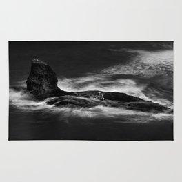 Black Nab Rock Rug
