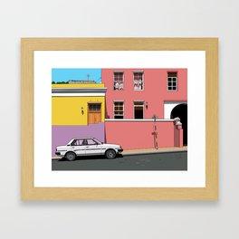 Whale Street Framed Art Print