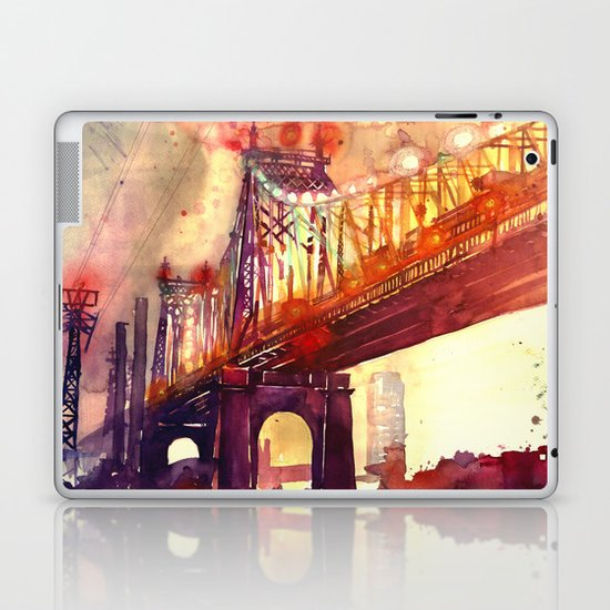 Queensboro Bridge Laptop & iPad Skin