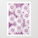 Summer Flowers Purple by lavieclaire