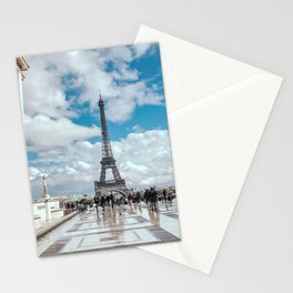 France Photography - The Eiffel Tower Seen From Palais De Chaillot Stationery Cards