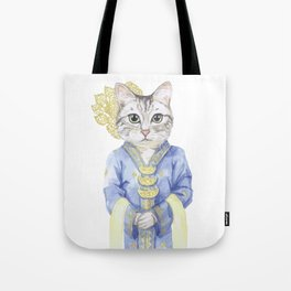 Kebaya Cat Tote Bag