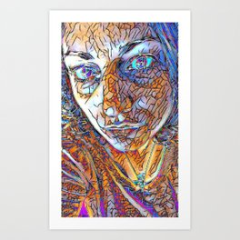 Diaphaneity Art Print