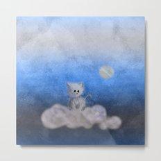 kitten in the sky Metal Print