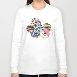 Iced Donuts Long Sleeve T-shirt