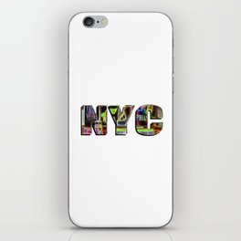 NYC (typography) iPhone Skin