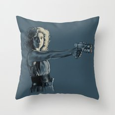 Mrs. Robinson - Doctor Who Throw Pillow