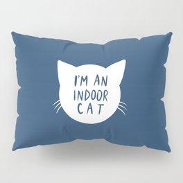 Indoor Cat (silhouette) Pillow Sham
