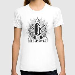Gold Spirit Art T-shirt
