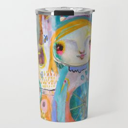 Moon Face Travel Mug