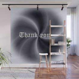 Pattern with writing Wall Mural