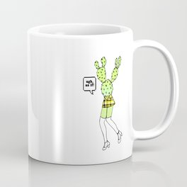 As If Cactus Coffee Mug