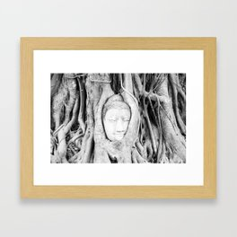 Buddha Tree Framed Art Print