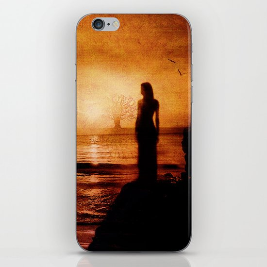 Melancholy in the sunset iPhone & iPod Skin