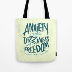 Kierkegaard on Anxiety Tote Bag