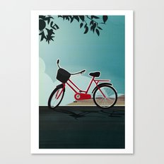 I wanna ride my bicycle Canvas Print