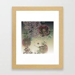 Metallic Botany Framed Art Print