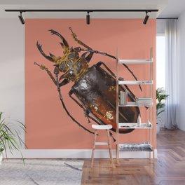 Rubyfire Stag Beetle Wall Mural