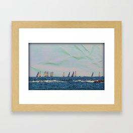 On the Horizon Framed Art Print