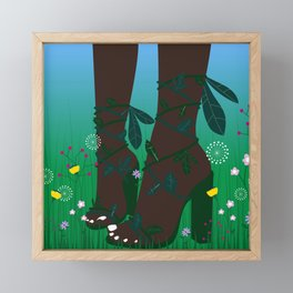 Bloom Where You Are Planted II Framed Mini Art Print