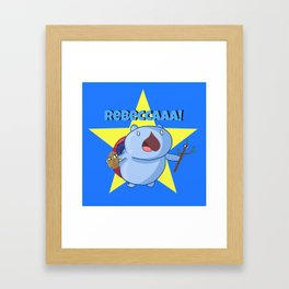 Rebeccca! Framed Art Print