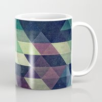 spires Mugs featuring dysty_symmytry by Spires