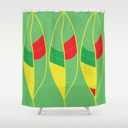 Nature Colorful Leaves Shower Curtain